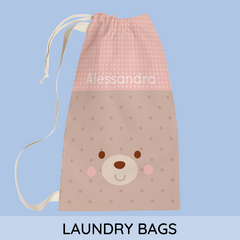 personalized laundry bags