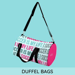 personalized duffel bags