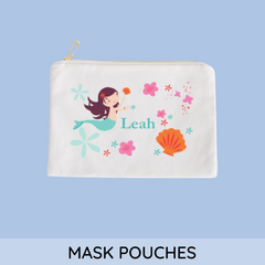 personalized mask pouch