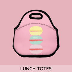 personalized lunch totes
