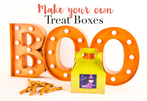 personalized halloween treat bags for parties