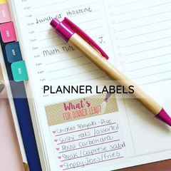Personalized Planner Sticker for all planners