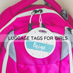 personalized luggage tags for girls