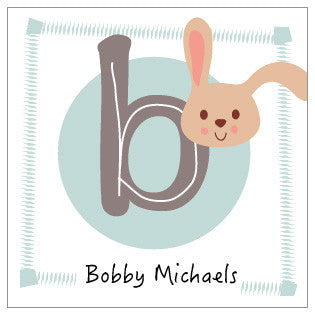 Bunny Label 3