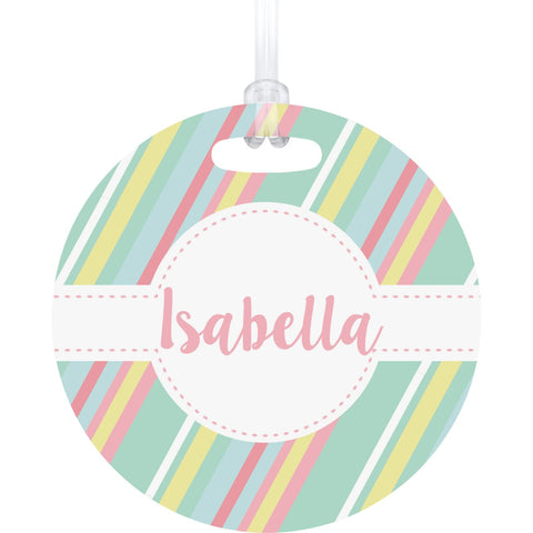 Candy Wrapper Bag Tag