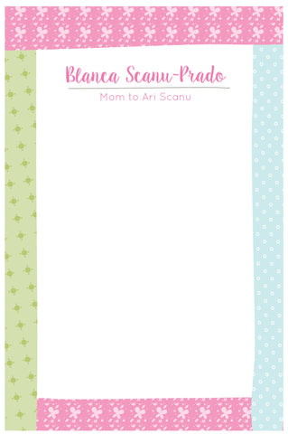Country Patterns Notepad
