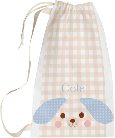 Personalized  doggie baby laundry bag