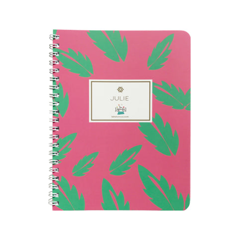 Monstera Leaf Mini Notebook