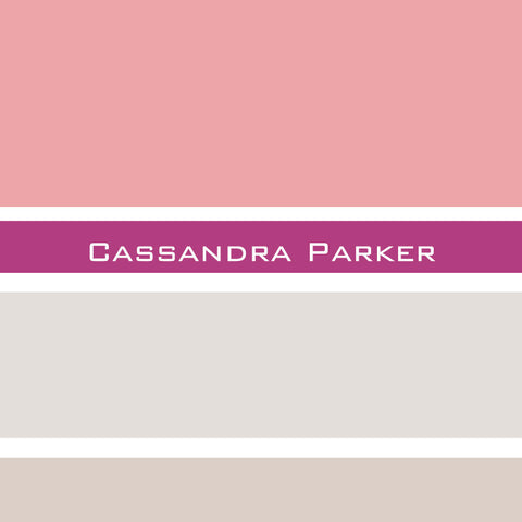 Colorblock Mom Contact Card