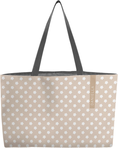 Neutral Flower  Weekender Tote