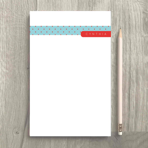 Teal Notepad