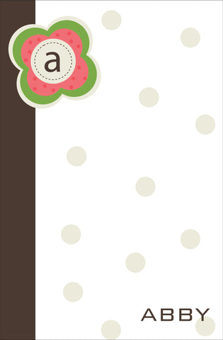 Monogram 1 Notepad