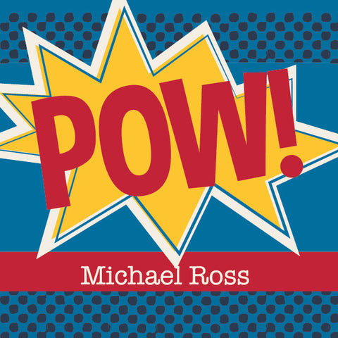 Pow! Label