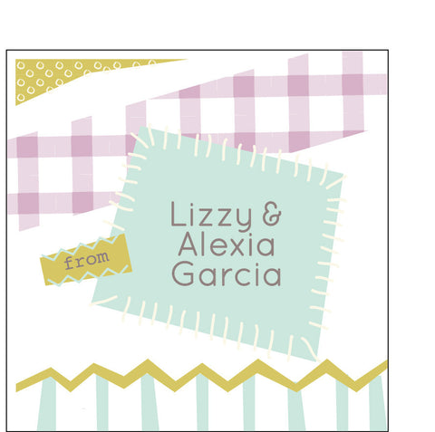 Scrapbooking Gift Label