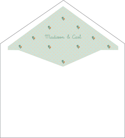 First Communion Bird Card
