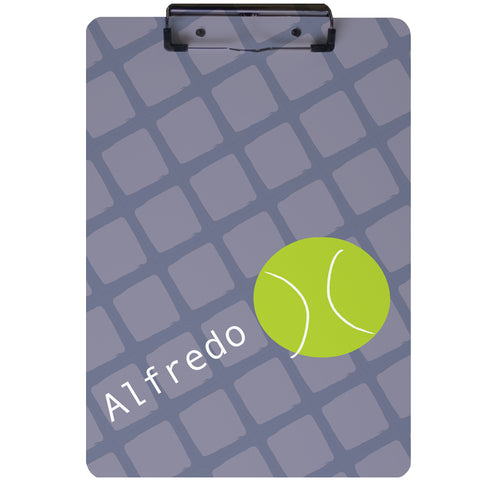 Tennis Ball Clipboard