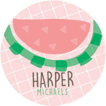 Watermelon Label