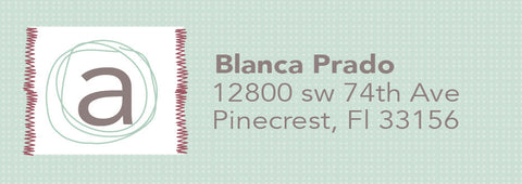 Address Label 2