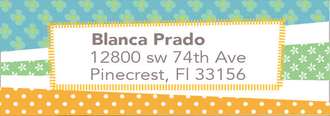 Address Label 6