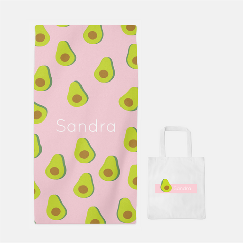 Avocado Towel & Tote Set