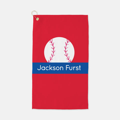 Baseball sport towel