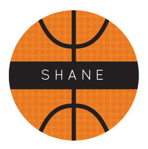 Basketball Water Resistant Labels