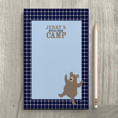 Bear Camp Notepad