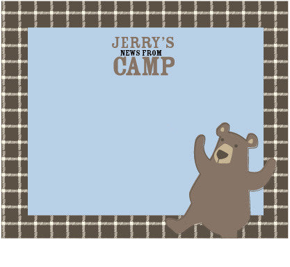 Bear Camp Cards