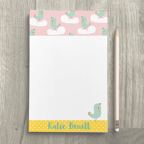 Blue Bird Notepad