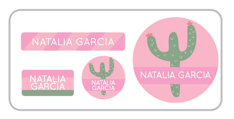 Cactus Everyday Labels