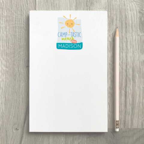 Camptastic News Notepad
