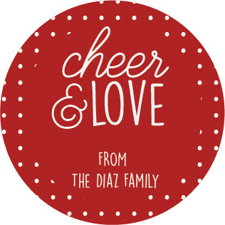 Cheer and Love Label