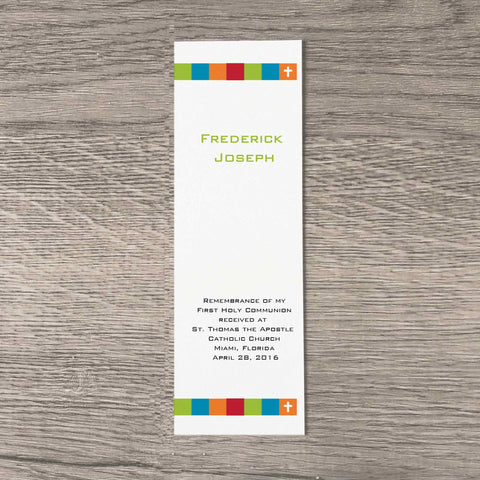 Colored Blocks Bookmarks(25)