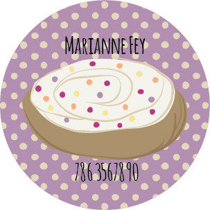 Sprinkle Cookie Label