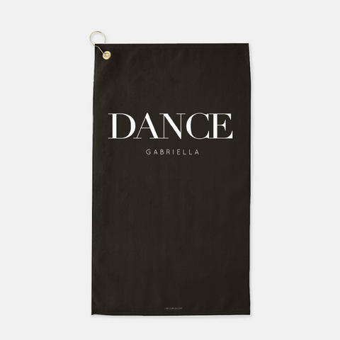 Dance sport towel