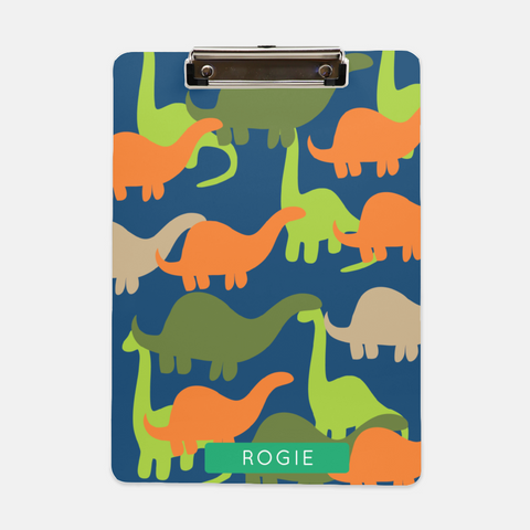 dinosaur personalized clipboard