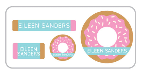 Donut Everyday Labels