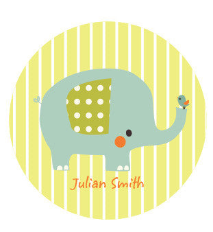Little Elephant Label