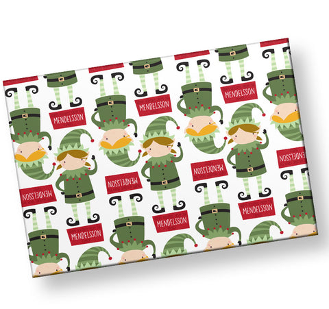personalized-elves-wrapping-paper