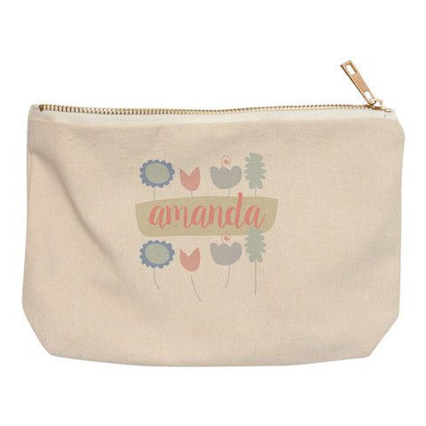 Flowers Pouch