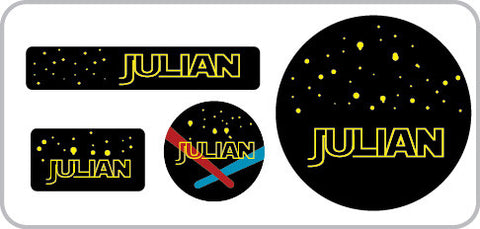 Galaxy Everyday Labels