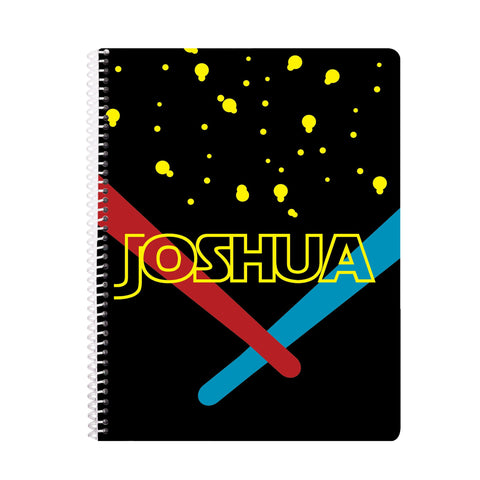 star wars personalized notebook