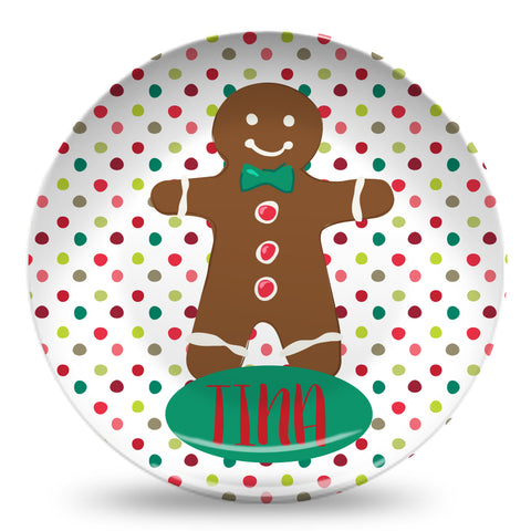 "Gingerbread 10"" Plate"