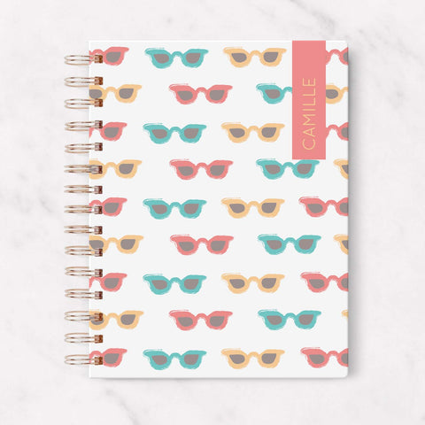 Cool Glasses Blank Planner