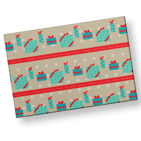 Happy Gifts Wrapping Paper