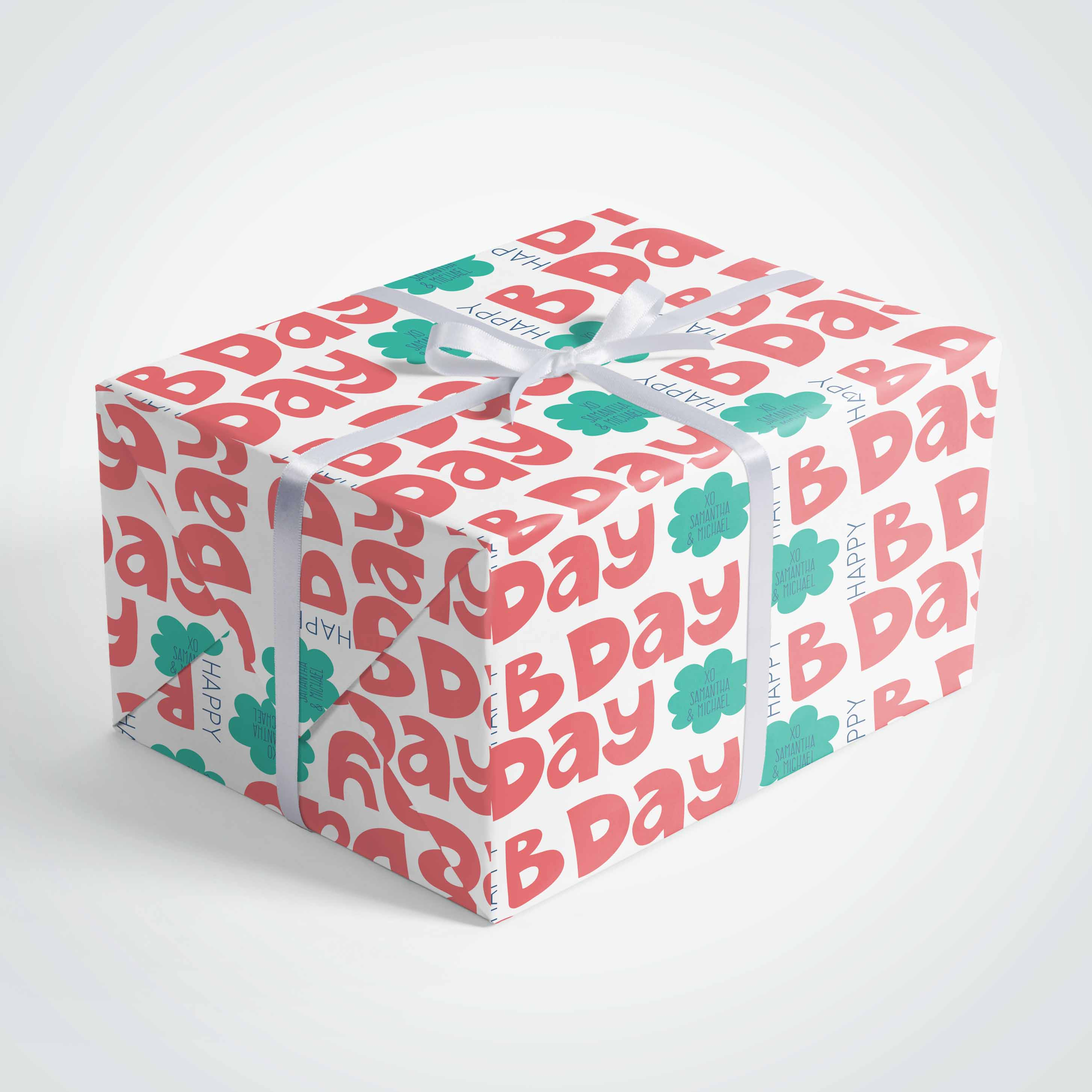 Happy Bday Wrapping Paper