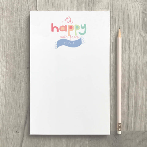 Happy Notes Notepad