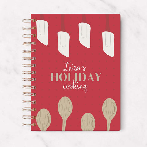 personalized holiday recipes book