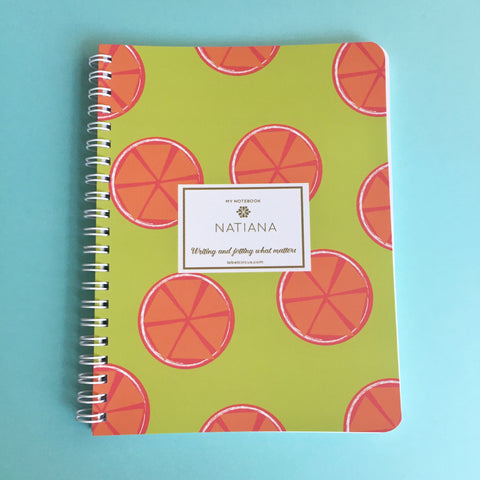 Juicy Orange Mini Notebook