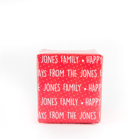 From The Jones Wrapping Paper